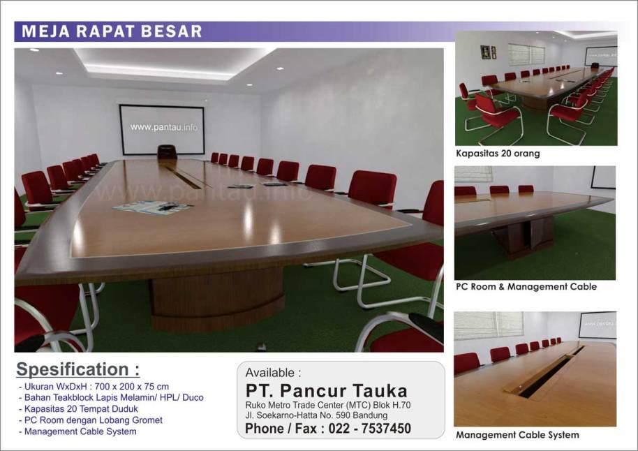 Meja Rapat Besar 1